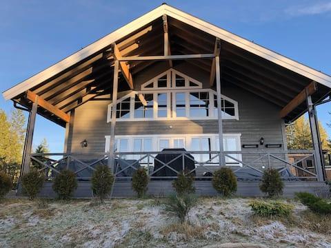 Ny og flott hytte i Lekvattnet, Finnskogen