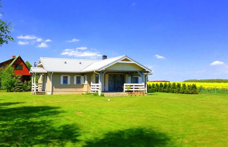 NordHaus-Oświno - dom skandynawski dla max. 8 osób - Oświno - Casa