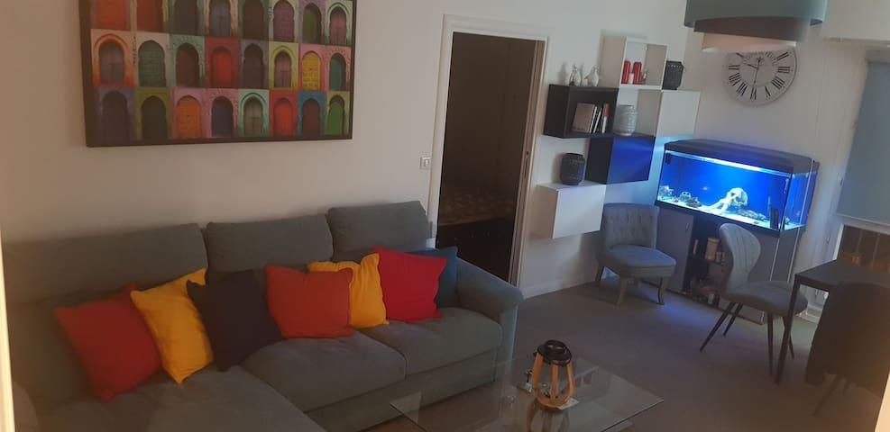 Chambre dans une résidence calme