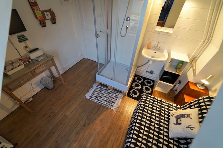 Le repaire du lama [9sqm room with private access]