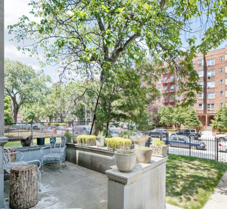 Private Oasis In Prospect Lefferts Garden Townhouses For Rent In Brooklyn New York United States