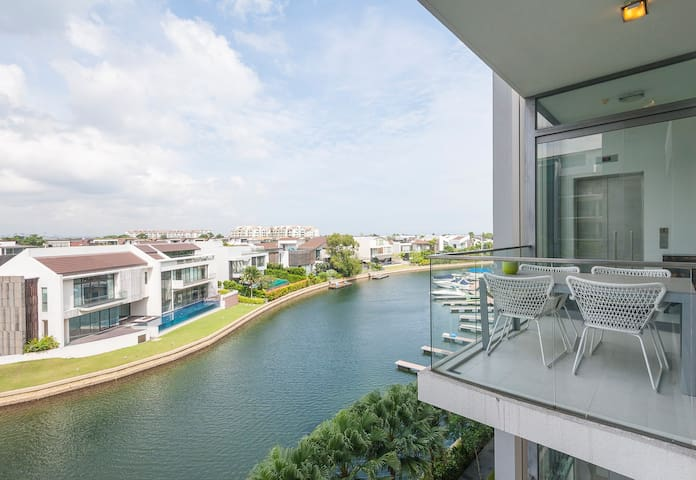 Stylish and luxurious lifestyle on Sentosa - Singapur - Apartament