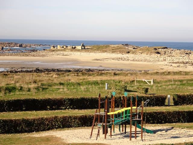 Appart superbe vue mer, proche plage et sentiers - Pleumeur-Bodou - Huoneisto