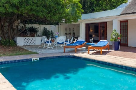 Luxury suite. Kitchenette, private patio and pool - Franschhoek - Rumah