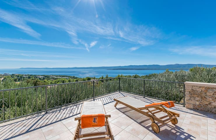 One bedroom House, in Bol - island Brac, Outdoor pool