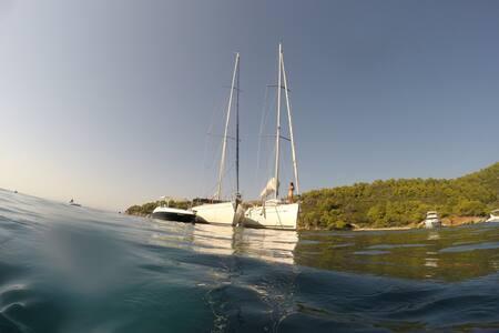 Alterra Vita_3-day Toroneos Gulf Sailing Trip - Neos Marmaras - Πλοίο