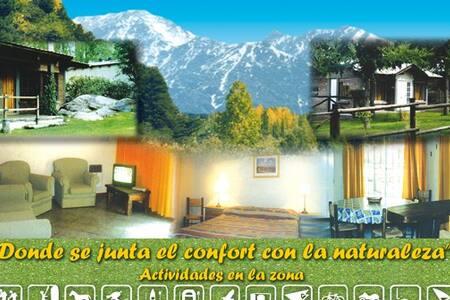 Casa de montaña en Potrerillos. Mendoza Argentina
