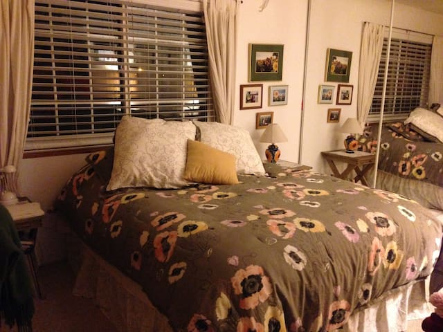 Sunny, bright cozy home for you! - San Jose - Huis
