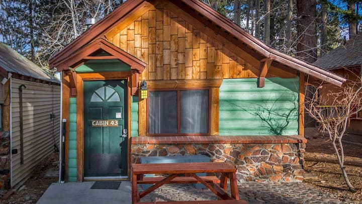 43-slps 2,warm spa, Cabins 4 Less No fee rentals