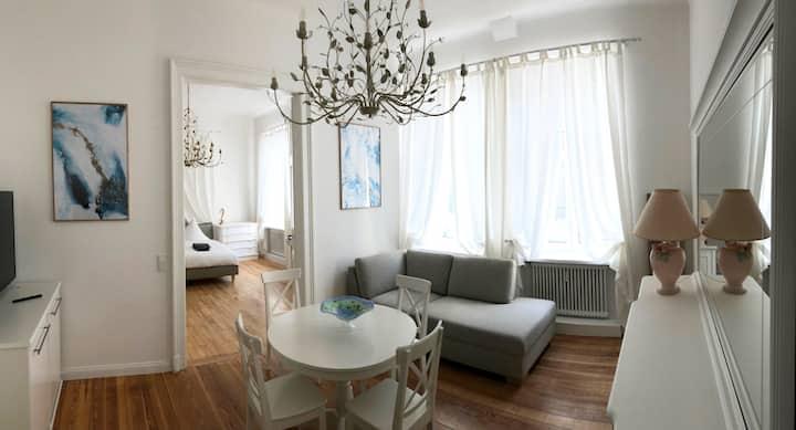 Sehr schöne Design Wohnung im Stadtzentrum