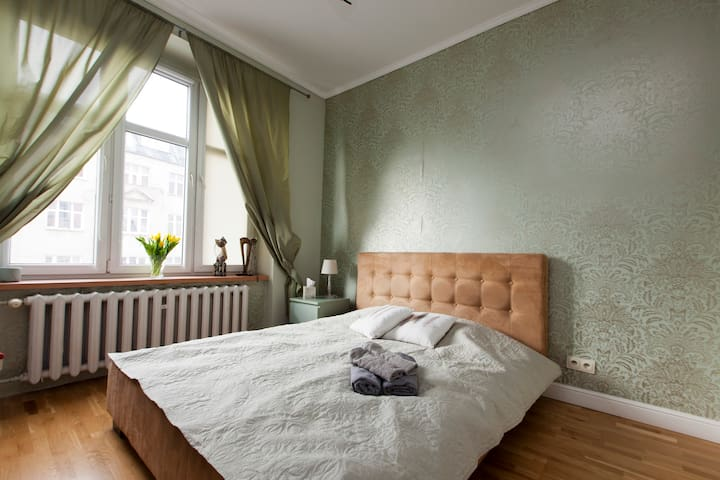 Spacious room close to the city center - Wrocław - Appartement