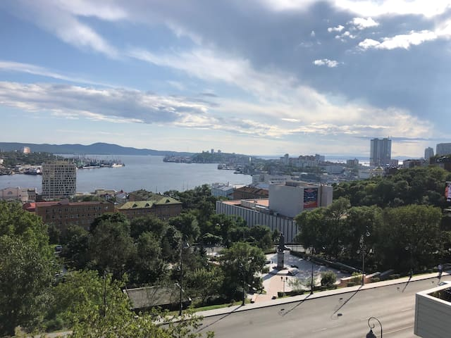 Golden Horn Bay view apartment in the city center