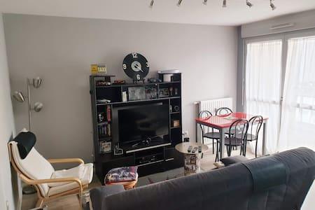 Appartement tout confort avec parking privé