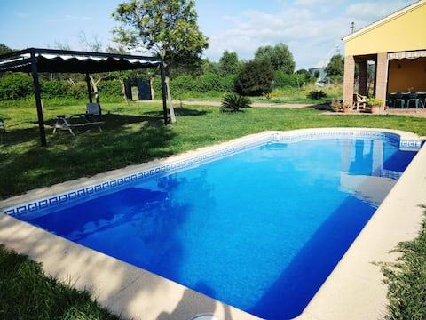 Bonita casa Rustica con piscina privada