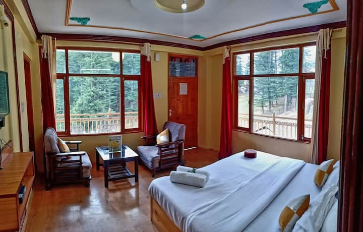 Spring House Manali - Cozy Room With Kitchen Wi-Fi