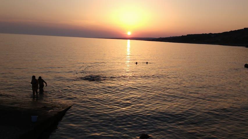 Baia san Gregorio marina di Patù lecce - Marina San Gregorio - Apartemen