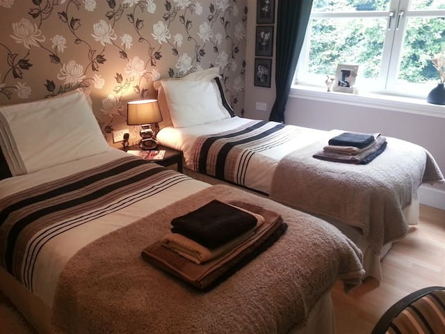 The Coppice Bed & Breakfast Twin Ensuite