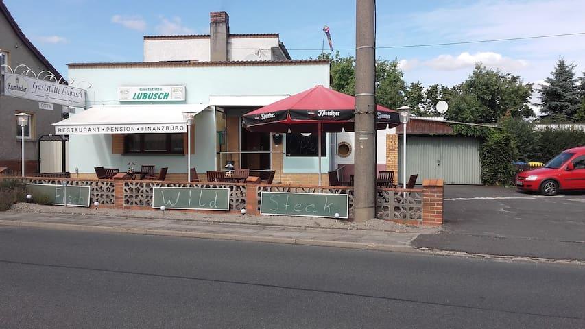 Pension Restaurant Lubusch Gahro