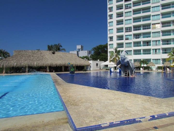 Costa Azul * Apto 906 (Dos alcobas) Espectacular