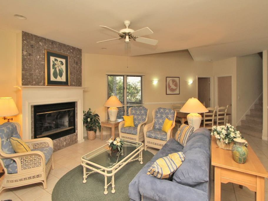 Living Room at 8 Cottage Court