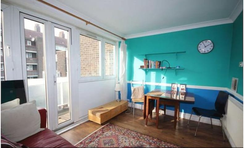 Large Double room in Bethnal Green, w/terrace