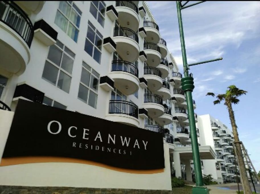 Outside view of Oceanway Residences condo.