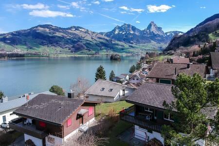 Haus Mythenblick, Bergpanorama, Zentralschweiz