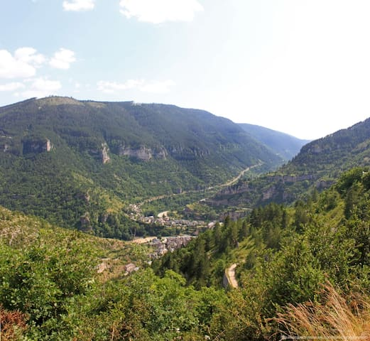 Gîte dans les Gorges du Tarn grande capacité - Sainte-Enimie - Holiday home