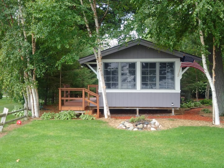 Lakeview cabin on Mille Lacs-Maximum  Three Guests