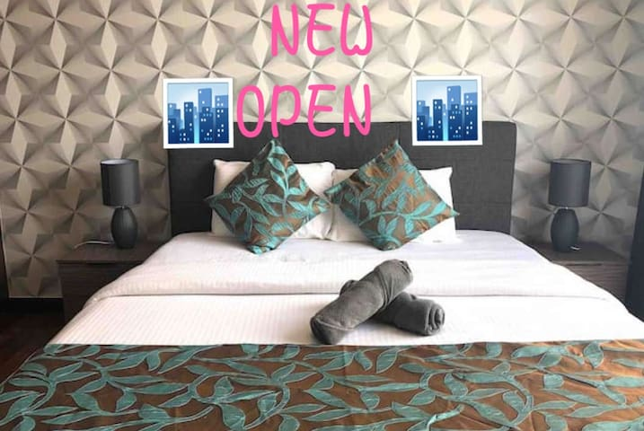 PROMO: Malacca City_42nd Floor_Sea+City View_WIFI