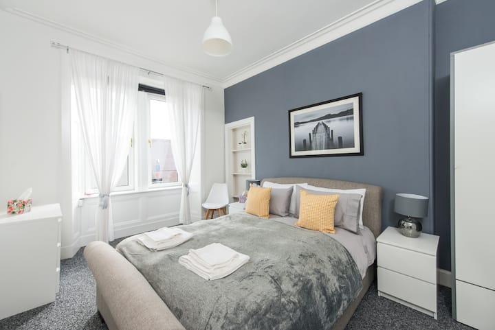 The Roseburn Apartment - Free Parking