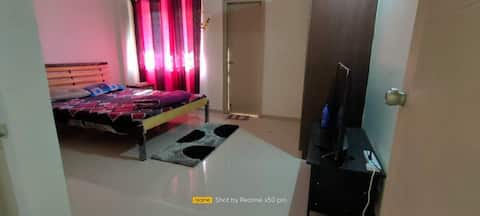 Airport view Lavish 1 BHK with all amenities