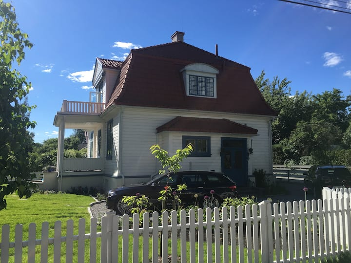 Beautiful villa extremely central in Oslo