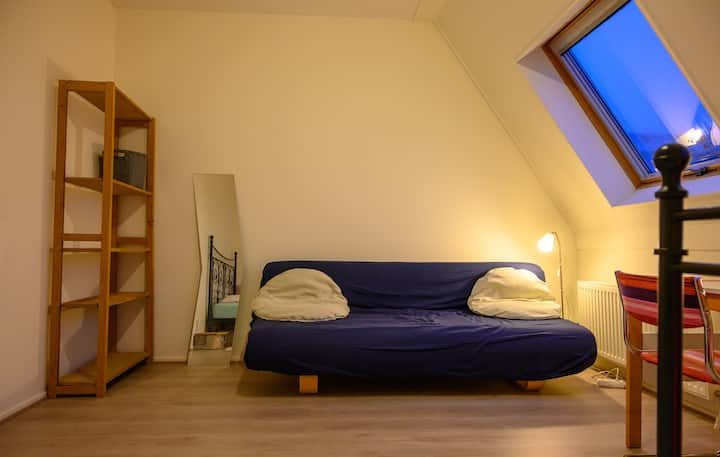 Cosy but large room in modern house