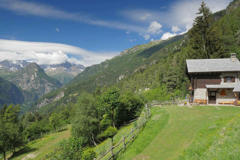 Chalet e i 4000 svizzeri