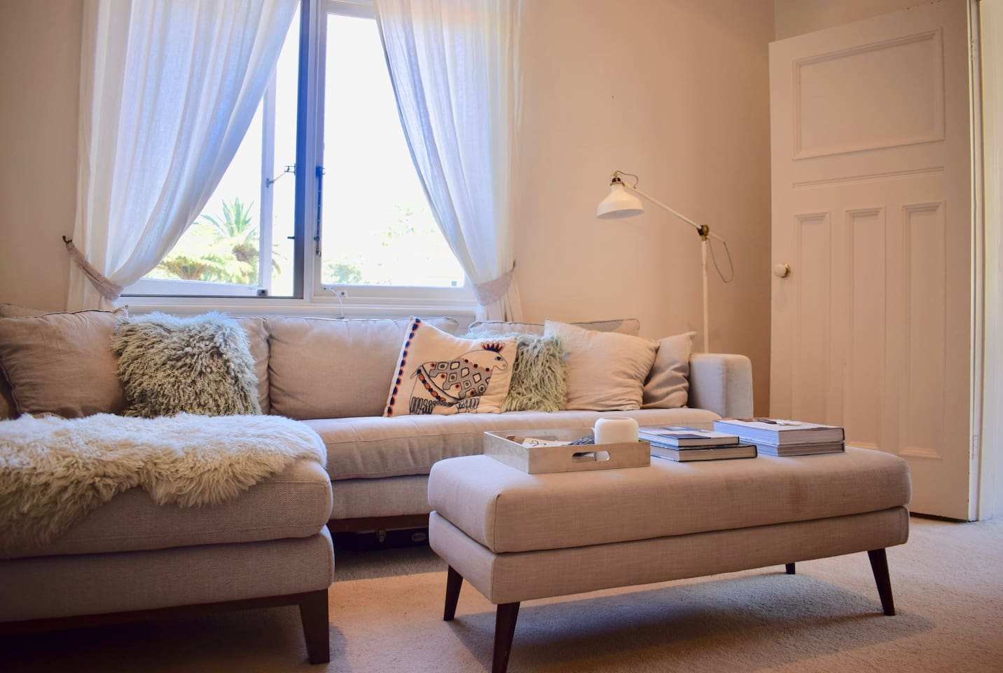 Comfortable and cute living area