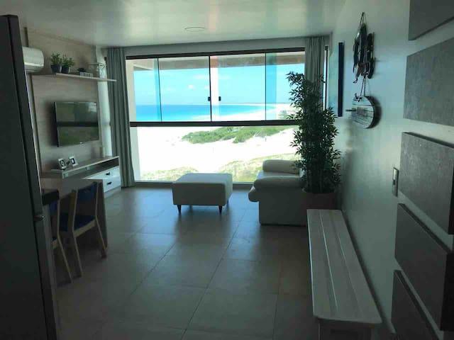 Apt Orla Praia Grande (Residencial Sophia I *****)
