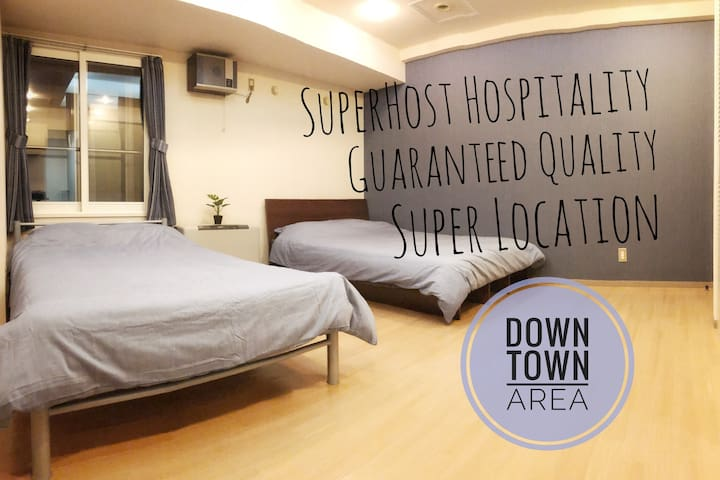 5star Host's New Room in Super Location‼︎