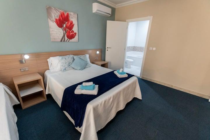 Room 101 with maltese balcony