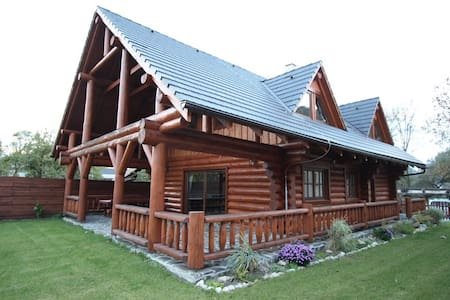 "Canadian log house "" Brotnica ""  in Veľká Fatra"