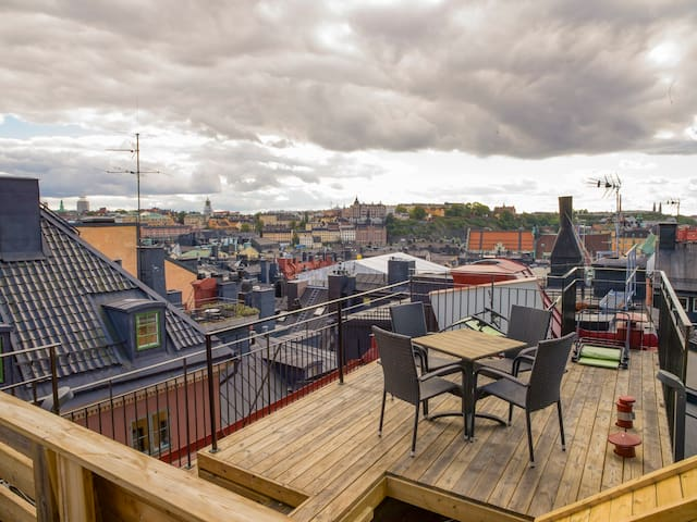 Giant 4 Level Penthouse in Old Town - Rooftop View - Stockholm - Lägenhet