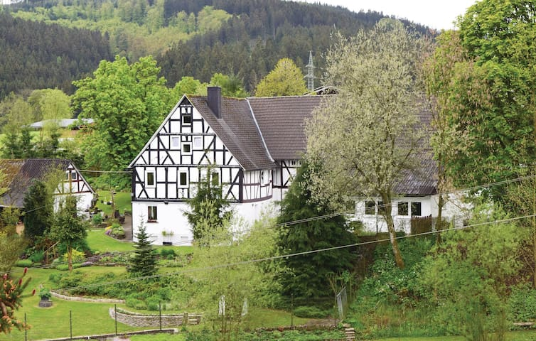 Holiday apartment with 2 bedrooms on 120m² in Bad Berleburg-Berghs.