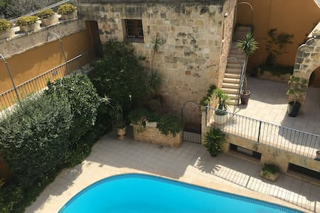 Brand new studio with pool in house of character.