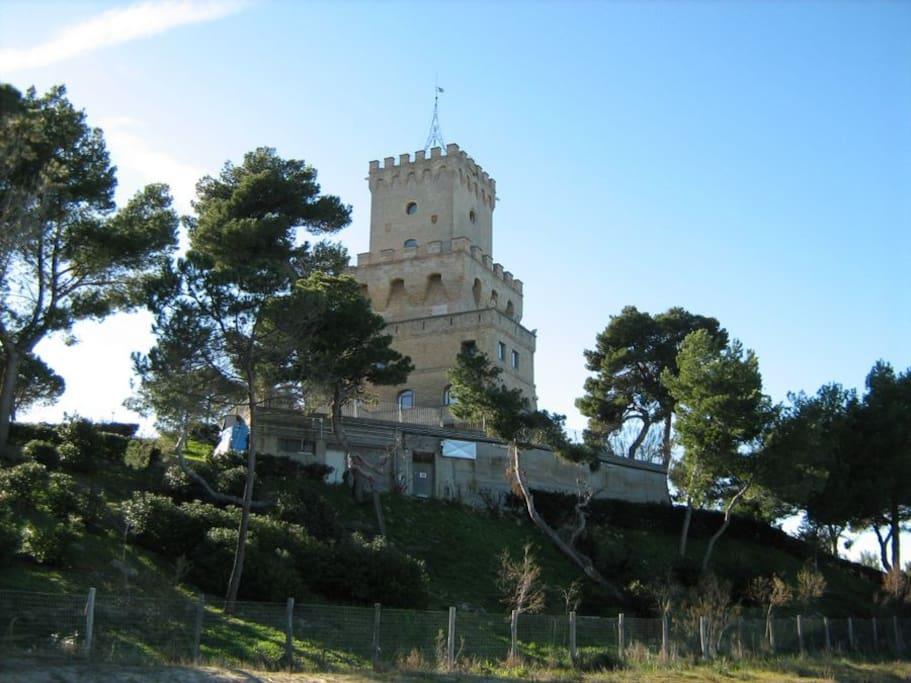Torre di Cerrano sede del Laboratorio di Biologia Marina e Area Marina Protetta
