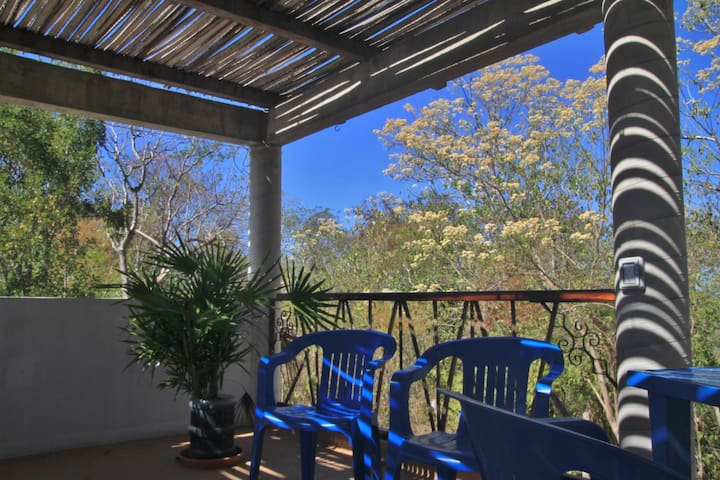 Room 3 en la Loma Bonita, Mazunte - Mazunte - Talo