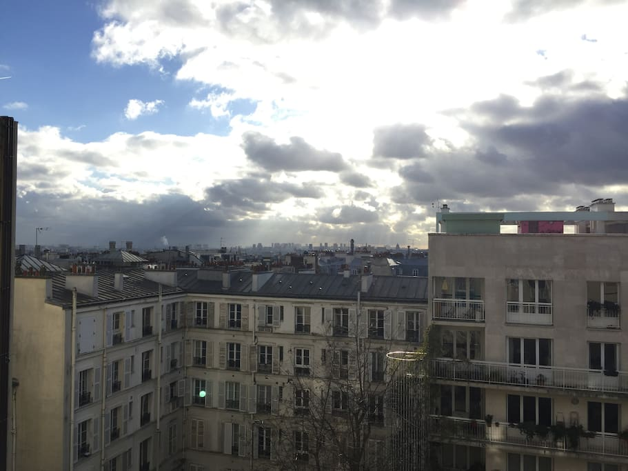 7th Floor and Montmartre ... What a view !