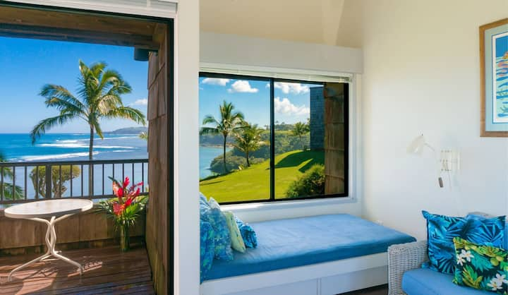 Sealodge E6-Beautifully remodeled condo, incredible view up the Anini reef