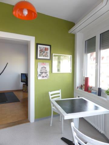 7 min to Center, 15 min to Airport - Zúrich - Apartamento