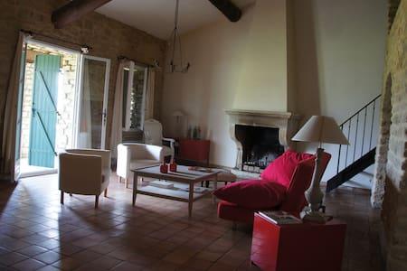 charmante maison de village - Crillon-le-Brave - Huis
