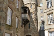 Saint-Malo, vieille ville.
